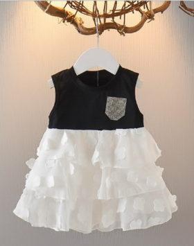 Gaun Mini Anak Model Rumbai Terbaru 2020