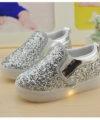 Sepatu Glitter LED Anak Impor