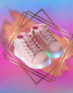 Sepatu LED Feminine Over Style