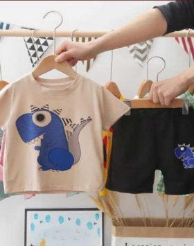 Kaos Setelan Anak Gambar Dyno Model 2021