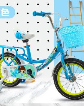 Sepeda Anak Ukuran 16 Inch Motif Anak Perempuan Imut