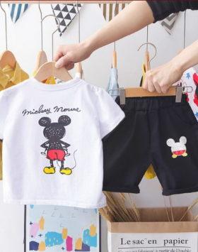 Setelan Kaos Oblong Anak Usia 1-5 Tahun
