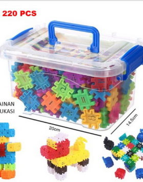 Terbaru Mainan Edukasi Blok Angka Isi 220
