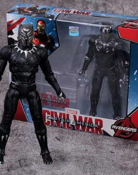 Terbaru Action Figure Black Pather M01