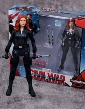 Terbaru Action Figure Black Widow Marvel 04