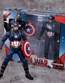 Terbaru Action Figure Captain America M4