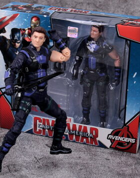 Terbaru Action Figure Hawkeye Avengers 04