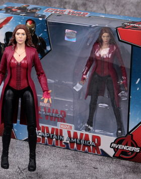 Terbaru Action Figure Scarlet Witch Marvel 04