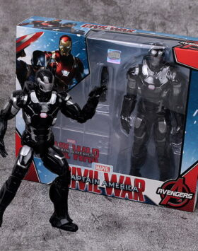Terbaru Action Figure War Machine Marvel 04
