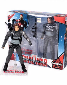 Terbaru Action Figure Winter Soldier Marvel 04