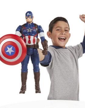Terbaru Mainan Captain America Avengers 2