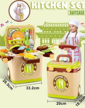 Terbaru Mainan Kitchen Set Suitcase Anak 2020