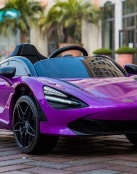 Terbaru Mobil Listrik Anak McLaren Ungu 2020