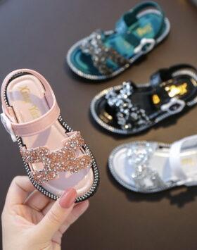 Terbaru Sandal Anak Glitter Glamour 2020