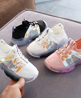 Terbaru Sepatu LED Hypebeast Size 26-30