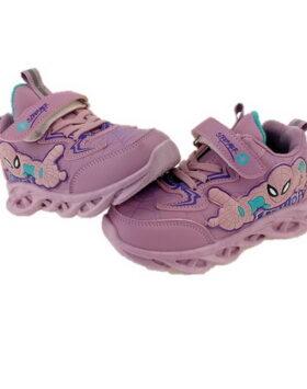 Terbaru Sepatu Sneakers Spiderman Purple 01