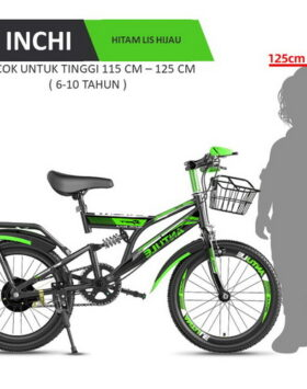 Terbaru Sepeda Gunung Anak 18 Inchi Impor