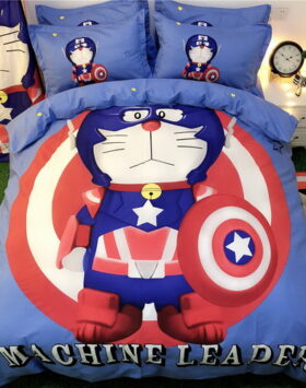 Terbaru Set Bed Cover Captain Doraemon 2020