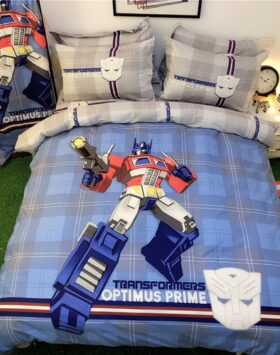Terbaru Set Bed Cover Transformers Impor 2020