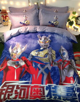 Terbaru Set Bed Cover Ultramen Impor 2020
