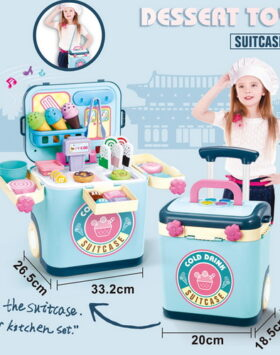 Terbaru Set Dessert Toy Suitcase Impor 2020