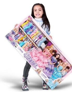 Terlengkap Set Barbie Gaun Mewah Impor 2020