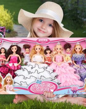 Terlengkap Set Boneka Barbie Isi 9 Pcs