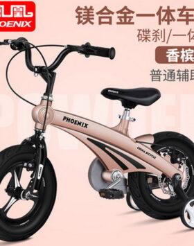 Sepeda Anak Phoenix Warna Gold Dengan Ukuran 14 inch