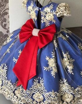 Terbaru Gaun Anak Glamour Style Eropa 2020