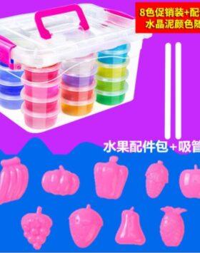 Terbaru Mainan Anak Slime 12 Warna Impor