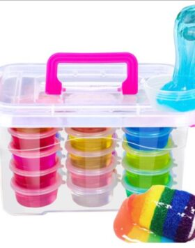 Terbaru Mainan Anak Slime 8 Warna Impor