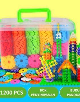 Terbaru Mainan Lego Kepingan Salju 1200 Pcs