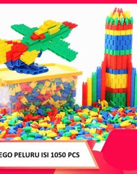Terbaru Mainan Lego Peluru Isi 1050 Pcs