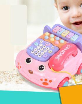 Terbaru Mainan Telepon Musik Anak Impor 2020