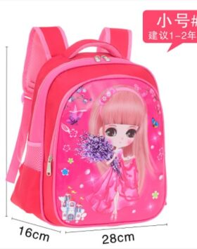 Terbaru Ransel SD Pink Little Girl 2 Ruang