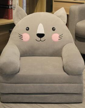 Terbaru Sofa Anak Model Kucing Cute 3 Lapis
