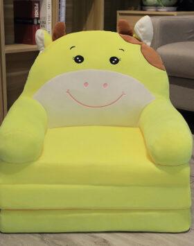 Terbaru Sofa Anak Model Sapi Kuning 3 Lapis