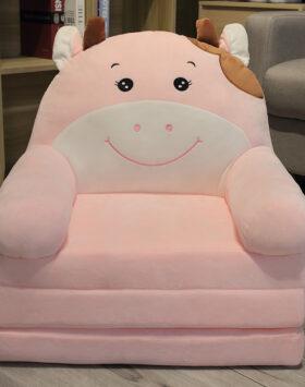 Terbaru Sofa Anak Model Sapi Pink 3 Lapis