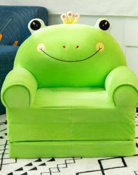 Terbaru Sofa Lipat Anak 3 Lapis Katak Hijau