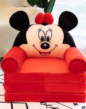 Terbaru Sofa Lipat Anak 3 Lapis Minnie Mouse