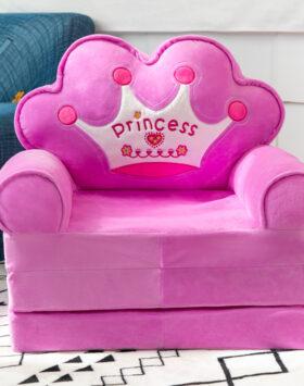 Terbaru Sofa Lipat Anak 3 Lapis Purple Queen