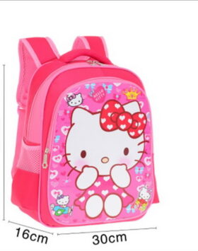 Terbaru Tas Ransel Anak Hello Kitty 2 Ruang