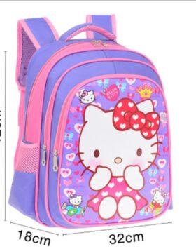 Terbaru Tas Ransel Anak Hello Kitty 3 Ruang