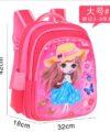 Terbaru Tas Ransel Anak Pink Anime 3 Ruang