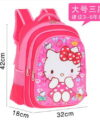 Terbaru Tas Ransel Anak Pink Kitty 3 Ruang