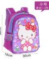 Terbaru Tas Ransel Anak Purple Kitty 2 Ruang