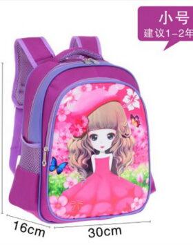 Terbaru Tas Ransel Anak Purple Sakura 2 Ruang