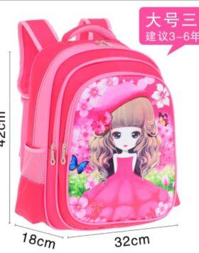 Terbaru Tas Ransel SD Putri Sakura 3 Ruang