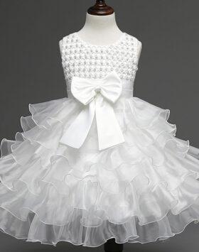 Terbaru Dress Ulang Tahun Anak Putih 2020