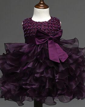Terbaru Dress Ulang Tahun Anak Violet 2020